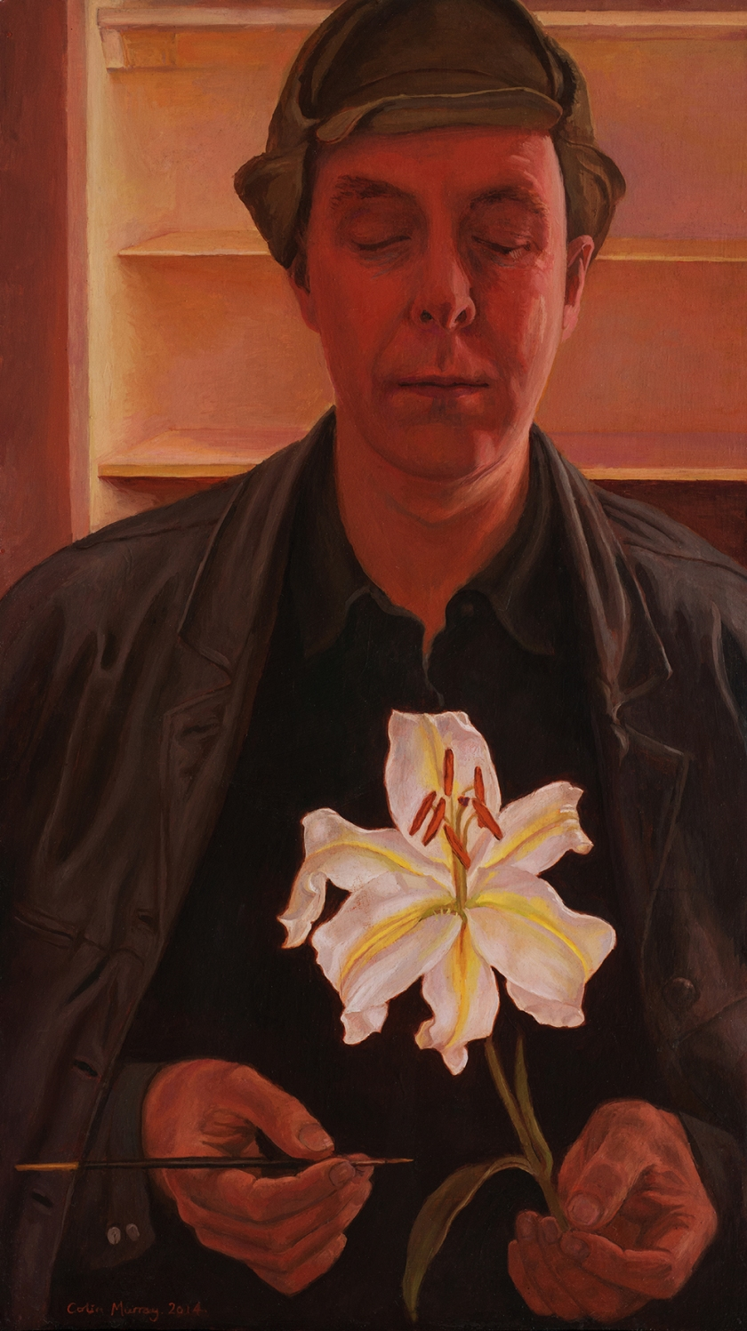 self-portrait-holding-a-lily-midres