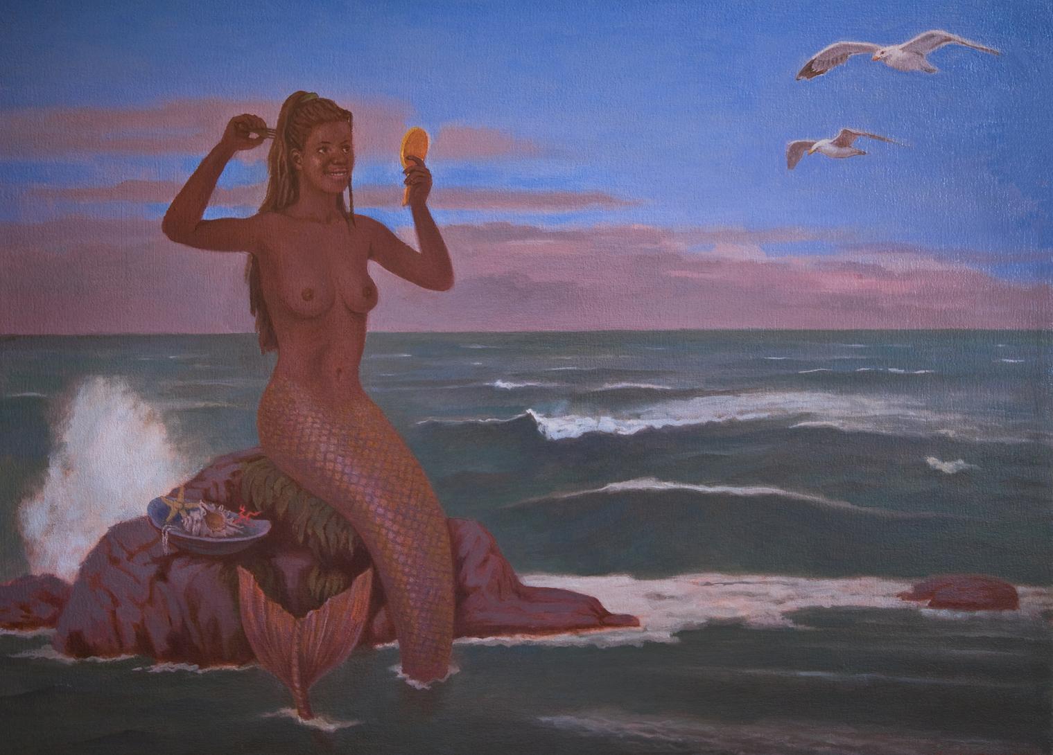 Black Mermaid lighter