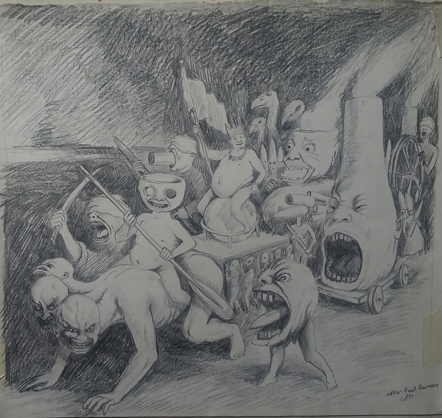 Paul Rumsey - Folly copy by me